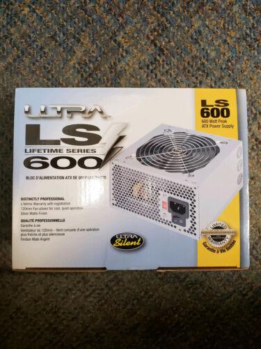 Ultra LS 600 Watt Peak ATX Power Supply