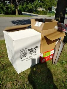 Moving Boxes:  $10.00