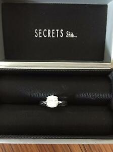Secrets Shhh...white gold ring-similar size of 1ct Townsville Townsville City Preview