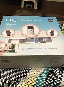 Ring Home Security Bundle - Still Sealed