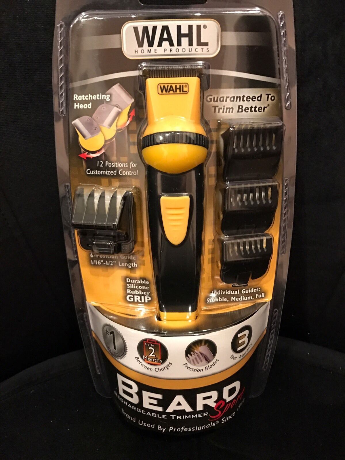Wahl Beard Rechargeable Trimmer Sport - Model 9953-200 -New!
