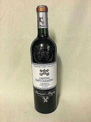 Chateau Pape Clement 2009 Grand Cru Classe Bernard Magrez Bordeaux Rot-1 Flasche