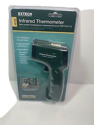 Extech Irt25 Infrared Thermometer 12 1 With Audible Alarm