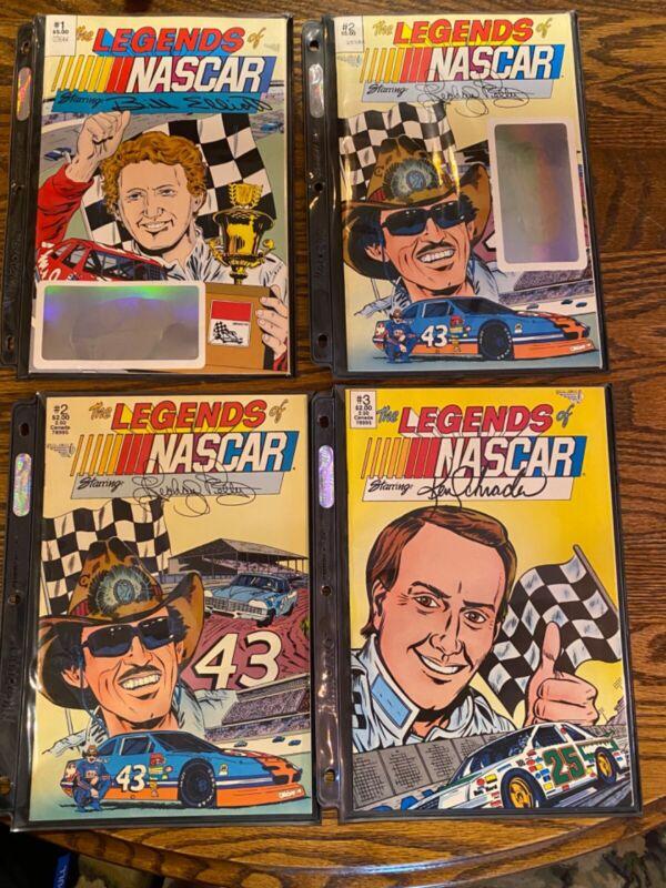 NASCAR COMICS; NASCAR Adventures, The Daytona 500 Story, The Taladega Story