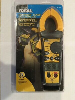 Ideal 61-763 660aac Tightsight Clamp Meter With Trms Capacitance Frequency