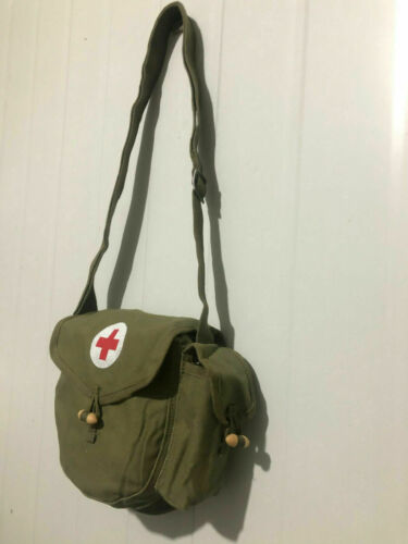 Military Surplus Chinese Army Type 56 Drum Magazine Pouch First Aid knapsack