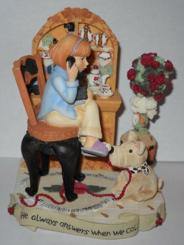 Harmony Hill ELIZABETH Figurine - He always answers we call MINT CONDITION