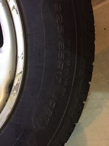 Winter tires on Rims - 225/65R17 St. John's Newfoundland image 3