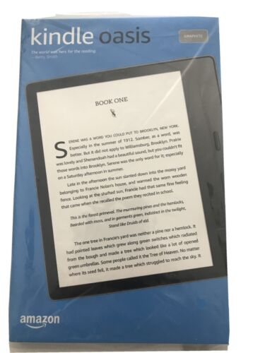Kindle Oasis 10th Gen 2019 Waterproof eReader - Graphite -