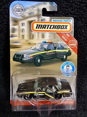 Matchbox 2019 Moving Parts - '06 Ford Crown Victoria Police Car - BOONE COUNTY