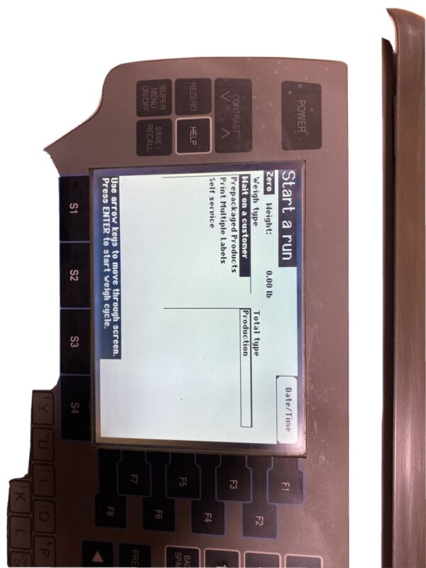 Hobart Quantum Deli Scale/Printer. Cleaned And Tested.