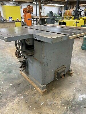 Tannewitz Table Saw Direct-drive 5-hp 220v 3-phase