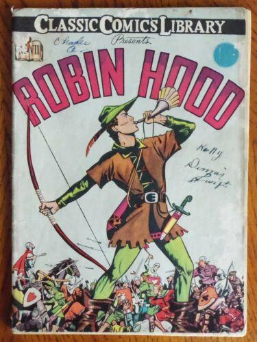Classics Illustrated Comics - #7 Robin Hood  - HRN12!!