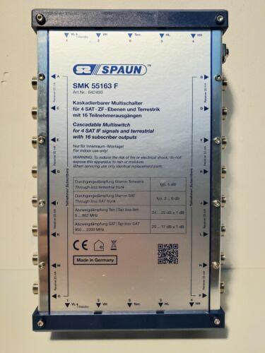 Spaun SMK 55163 F SAT Multi-Switch 5/5 in 16 842493
