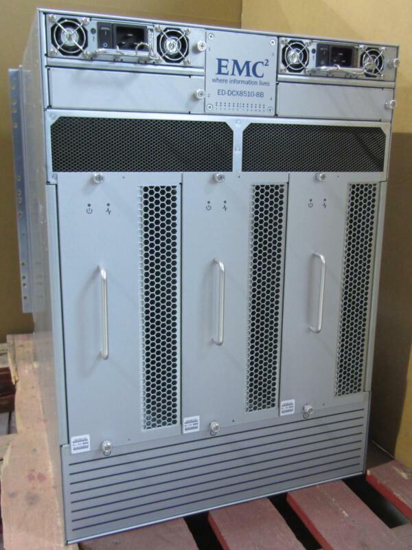 EMC² ED-DCX8510-8B Flash Storage System | 2x CR16-8, 2x FC8-48E, 2x FC8-48