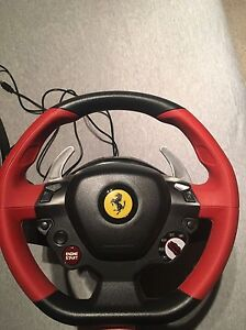 Xbox One Steering Wheel & Pedals