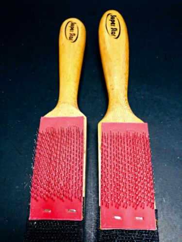 Wood Suede Sole Wire Cleaners Dance Shoes Cleaning Brush For Footwear 2Pcs