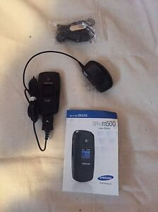 Samsung SPH - m500 cell phone  Cambridge Kitchener Area image 1