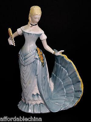 Franklin Kostüme (Arabella The Waltz Porzellan Figur Franklin Neuzustand 1981 Museum Kostüm)