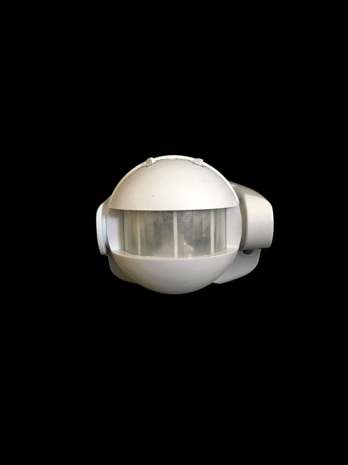 180° Stand alone PIR security motion detector  sensor, adjustable lux and time