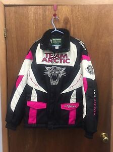Youth Size 16 Arctic Cat Jacket (Fits woman Med)
