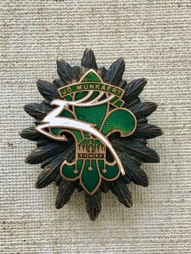 IV Jamboree 1933 Hungary Godollo  White Deer Order of Merit GÖDÖLLŐ RARE