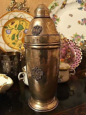 Authentic Sterling Silver Faberge Grand Duke Martini Shaker Beautiful Useful New (Deluxe Martini Shaker)