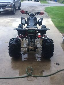 2007 TRX 450r trade for toolbox with tools London Ontario image 4