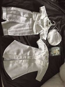 Baby Boy baptism outfit used once size L (6-9mths)