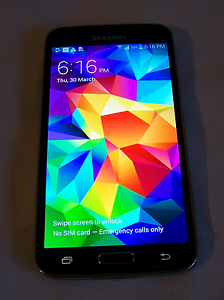 Samsung Galaxy s5 Klemzig Port Adelaide Area Preview
