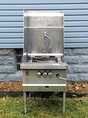 Jade Range Commercial Chinese Wok Single Burner Gas Grill Range