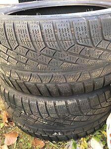 2x 245/40r18 pirelli winter tires