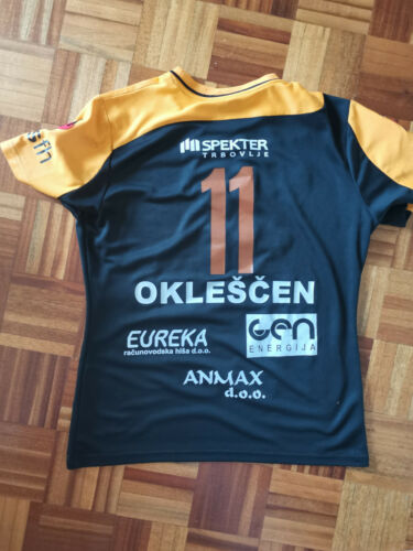 SPELA OKLESCEN Match Worn Jersey Handball Club RK Zagorje Slovenia