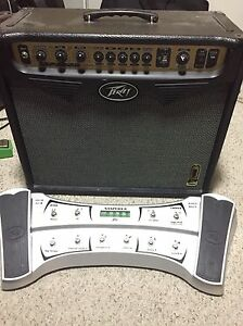 Peavey vypyr with sanpera II pedal
