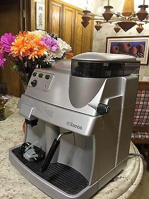 SAECO VIENNA Impetuous Steam COFFEE, ESPRESSO & CAPPUCCINO MACHINE