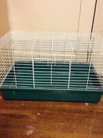 Small animal cage and supplies