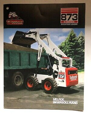 Bobcat 873 G Series Skid Steer Loader Sales Literature And Specifications