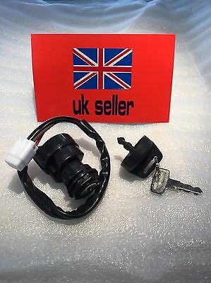 Ignition Switch For Yamaha YFZ 450 Quad  450 Grizzly Kodiak Wolverine 2 Keys