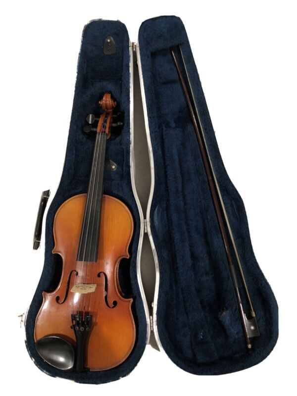 Nagoya Suzuki Model 220 Violin Outfit 3/4 Establish 1887 *Good Condition*
