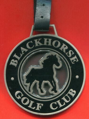"New - Blackhorse Golf Club - 3"" Metal Bag Tag"