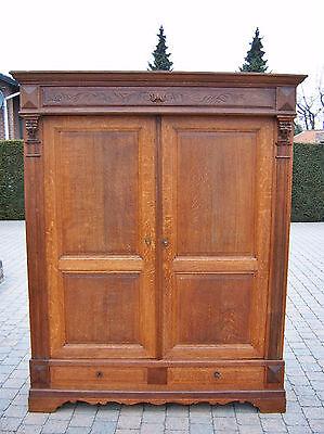 Schöner Gründerzeit Kleiderschrank Schrank um 1880 wohnfertig Lieferung 119€