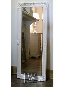Cannes-White-Shabby-Chic-Full-Length-Antique-Dress-Mirror-16-x-52-Medium