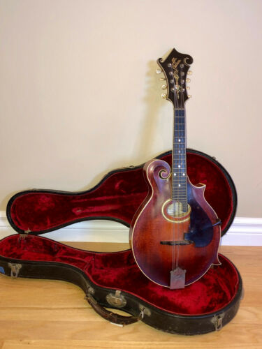 1915 Gibson F-4 Mandolin with DeArmond Pickup and Case