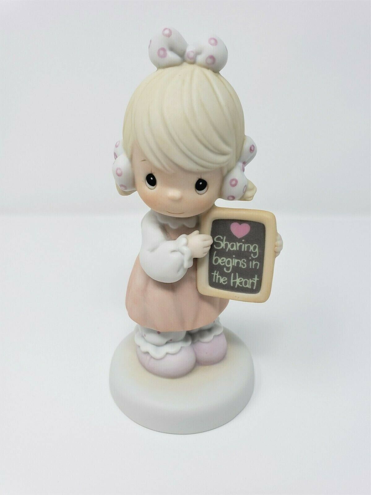 Precious Moments Sharing Begins In The Heart 520861 Special Event Figurine 1988