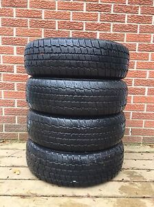 Full set of Cooper Winter Tires ($60 for all 4) (no rims) Kitchener / Waterloo Kitchener Area image 1