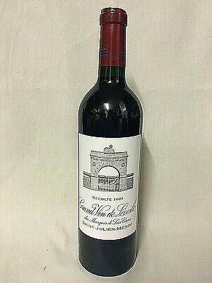 CHATEAU LEOVILLE LAS CASES 2eme Cru 2009 Grand Vin de Bordeaux Frankreich Rot