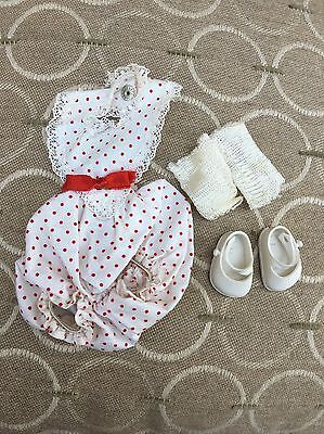 Vogue Baby Ginnette 1950's Outfit With Marked Shoes Ginny Sister