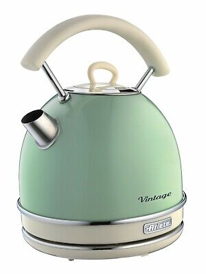Ariete 2877 G Vintage Retro Electric Kettle Green 2000W 1.7 Litres