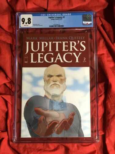 CGC 9.8~JUPITER'S LEGACY #2~1st PRINT COVER A~FRANK QUITELY ART~NEW NETFLIX TV!