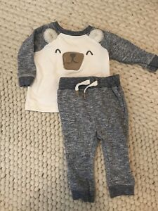 Lot of Baby Boy Fall winter clothes 9-12 months *New and Used*